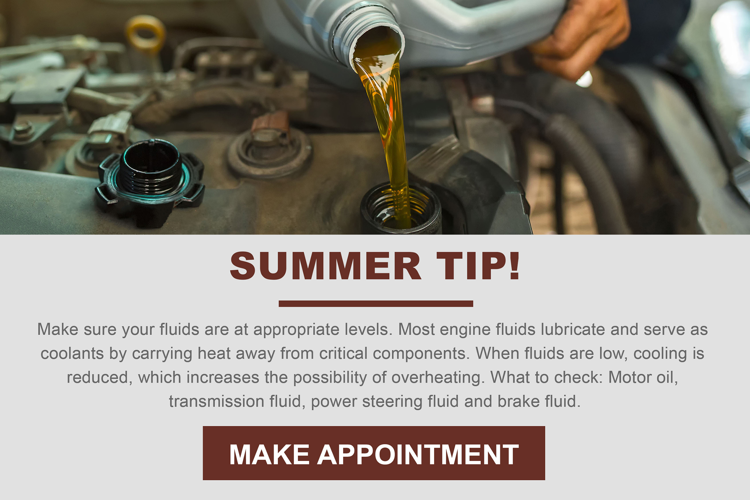 August Car Care Tip