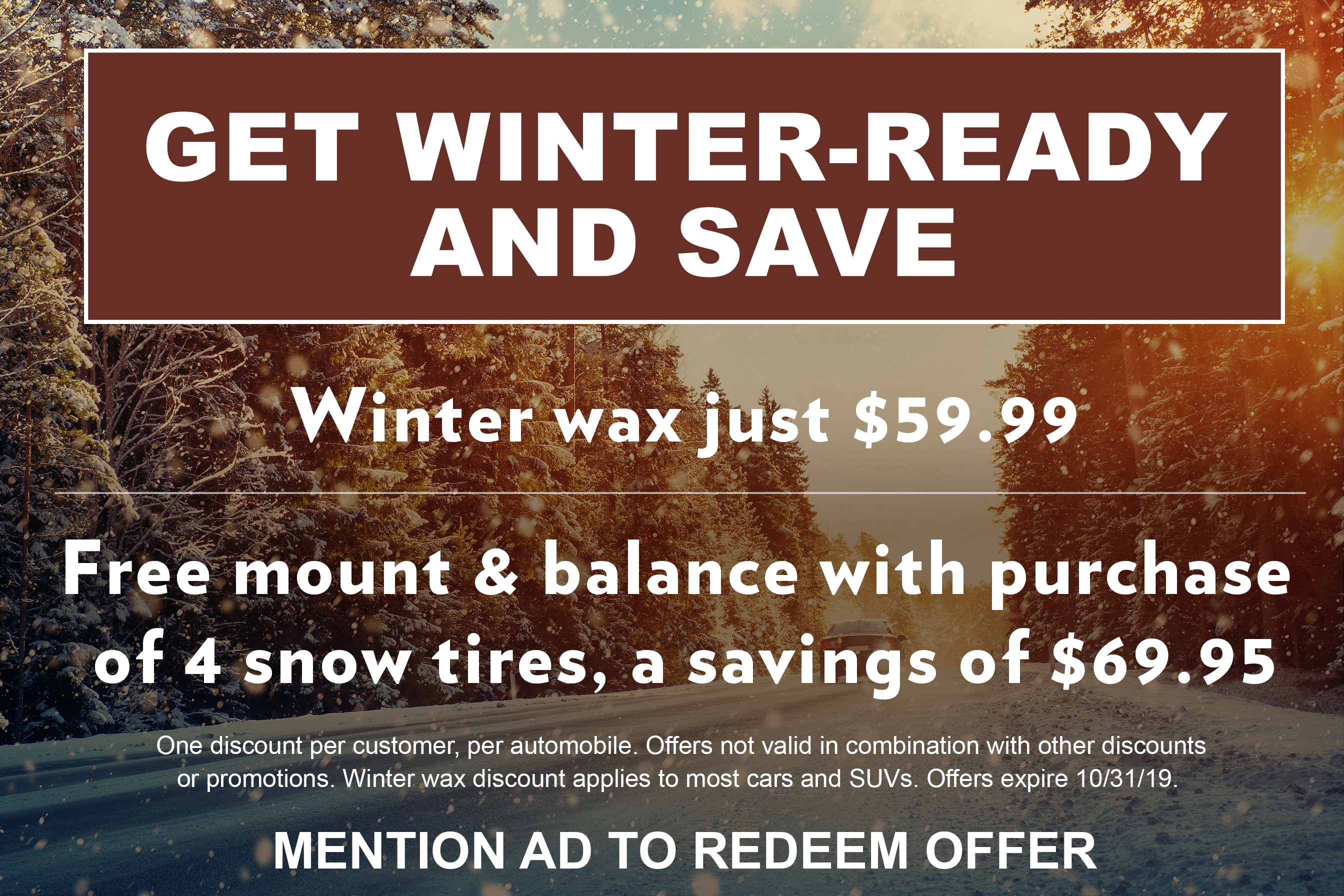Get Winter Ready and Save